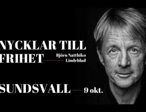 Onsdag 9 oktober + Nycklar till frihet med Björn Natthiko Lindeblad