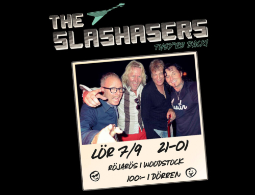 Lördag 7 september + The Slashasers